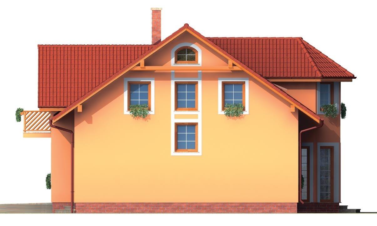 Pohľad 4. - Rodinná vila so suterénom, možnosť dvojgeneračného bývania