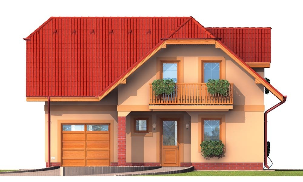 Pohľad 1. - Prekrásny dom pre početnú rodinu.