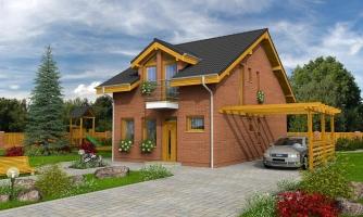 Iba 6,5 metrov široký moderný dom