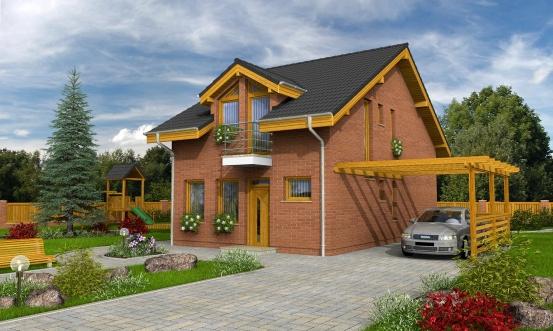 projekt domu PREMIER 152