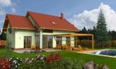 Priestranný dom so sedlovou strechou