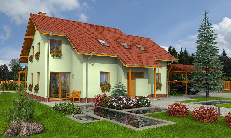 projekt domu PREMIER 153