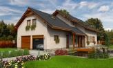 Veľký dom vhodný na užší pozemok