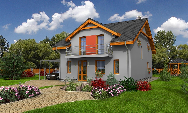 projekt domu PREMIER 155