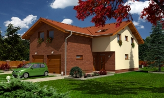 Projekt dvojgeneračného domu