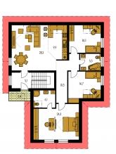 Pôdorys poschodia - PREMIER 157