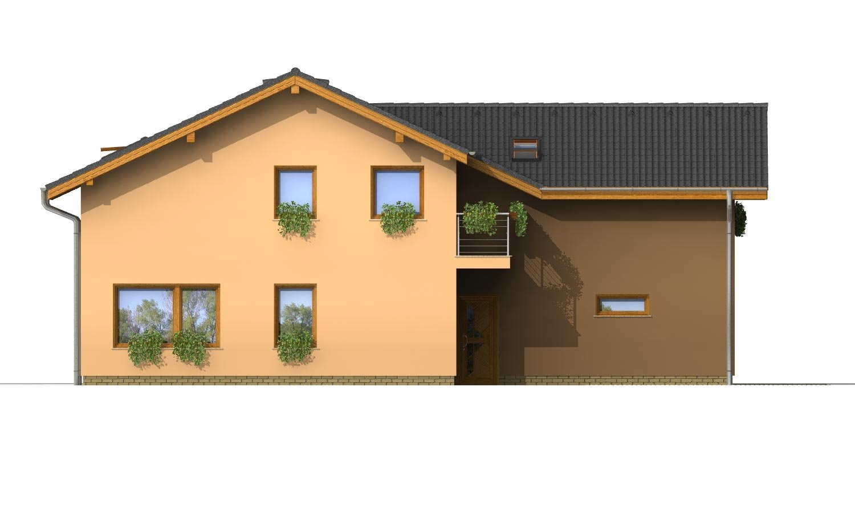 Pohľad 2. - Projekt dvojgeneračného domu