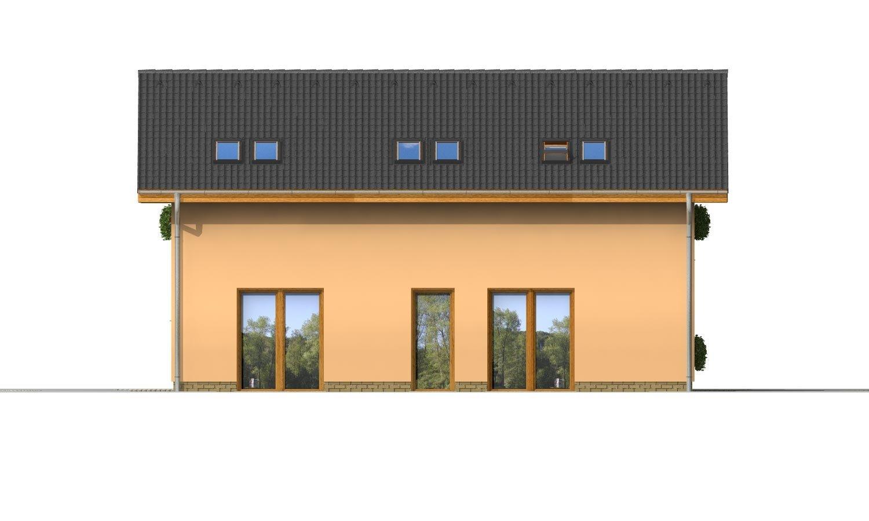 Pohľad 3. - Projekt dvojgeneračného domu