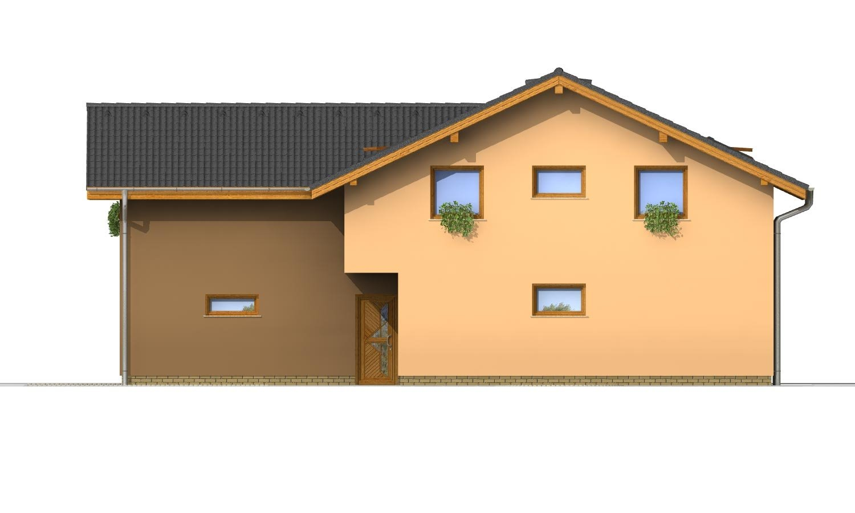 Pohľad 4. - Projekt dvojgeneračného domu