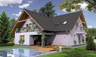 Priestranný dvojgeneračný dom