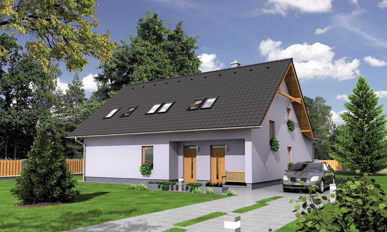 projekt domu PREMIER 158