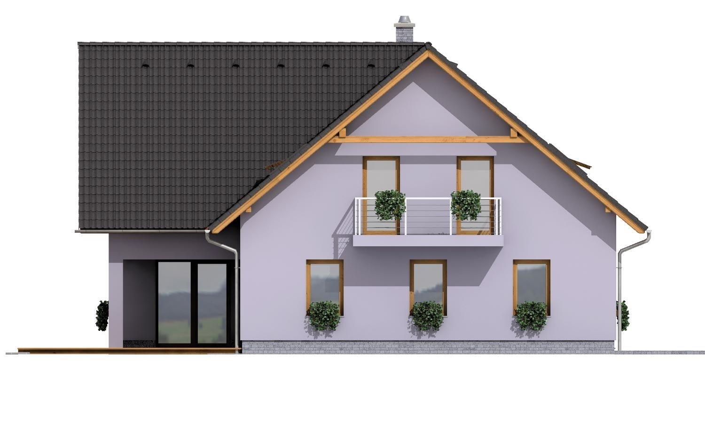 Pohľad 2. - Priestranný dvojgeneračný dom