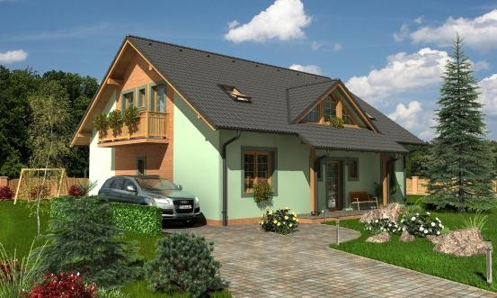 projekt domu PREMIER 175