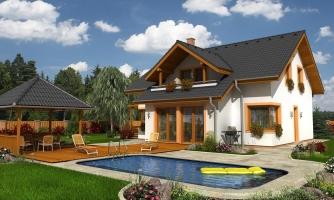 Nádherný dom s presvetlenou obývačkou