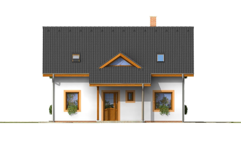 Pohľad 1. - Nádherný dom s presvetlenou obývačkou.