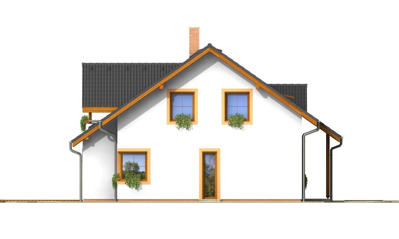 Pohľad 2. - Nádherný dom s presvetlenou obývačkou.