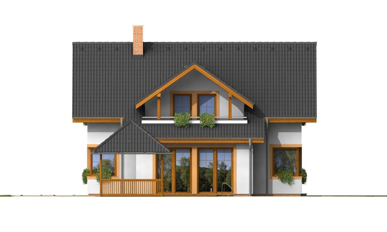 Pohľad 3. - Nádherný dom s presvetlenou obývačkou.