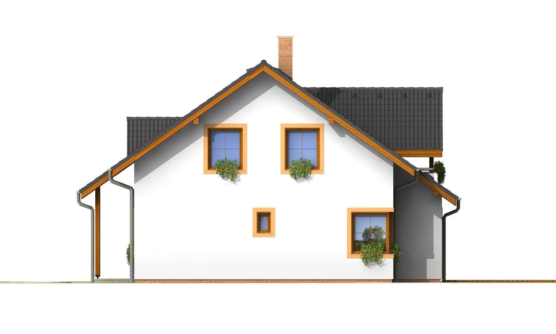 Pohľad 4. - Nádherný dom s presvetlenou obývačkou.