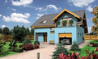 Prekrásny dom s garážou
