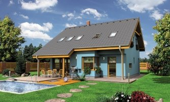 projekt domu PREMIER 180