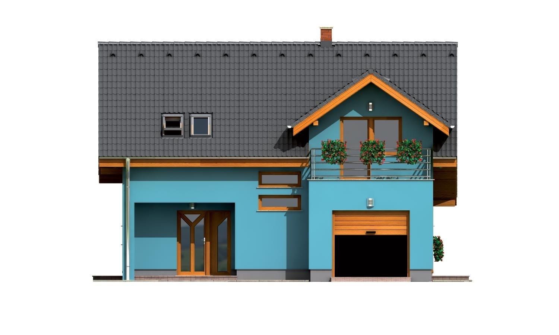 Pohľad 1. - Prekrásny dom s garážou
