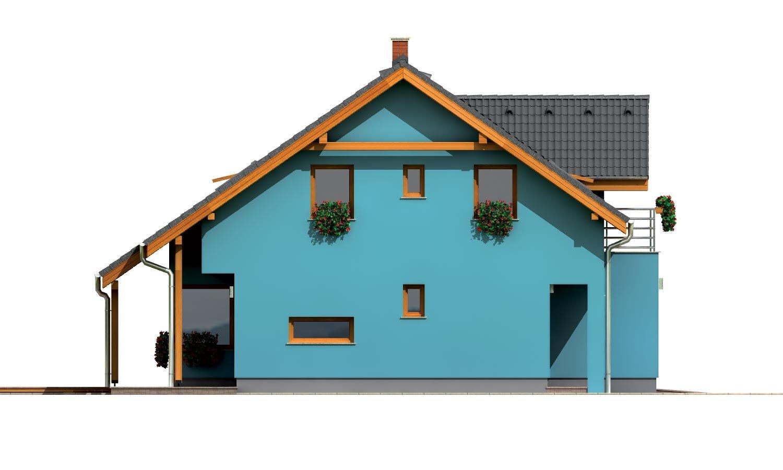 Pohľad 2. - Prekrásny dom s garážou