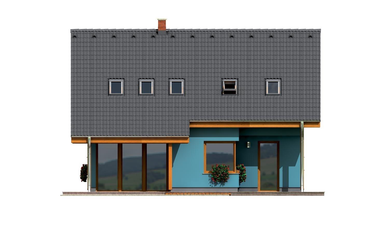 Pohľad 3. - Prekrásny dom s garážou