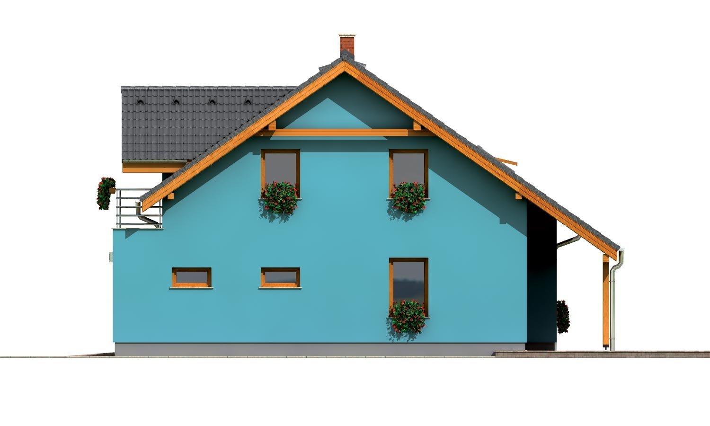 Pohľad 4. - Prekrásny dom s garážou