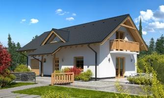 Dom vhodný aj na užší pozemok