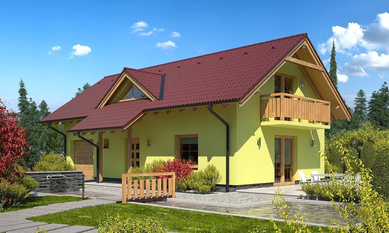 projekt domu PREMIER 181