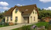 Projekt domu so sedlovou strechou