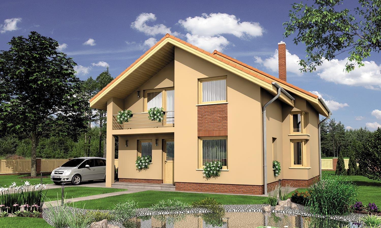 projekt domu PREMIER 196