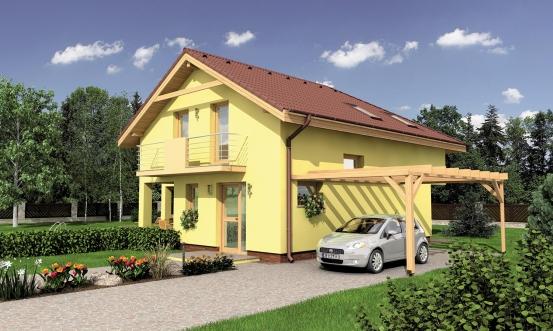 projekt domu PREMIER 197