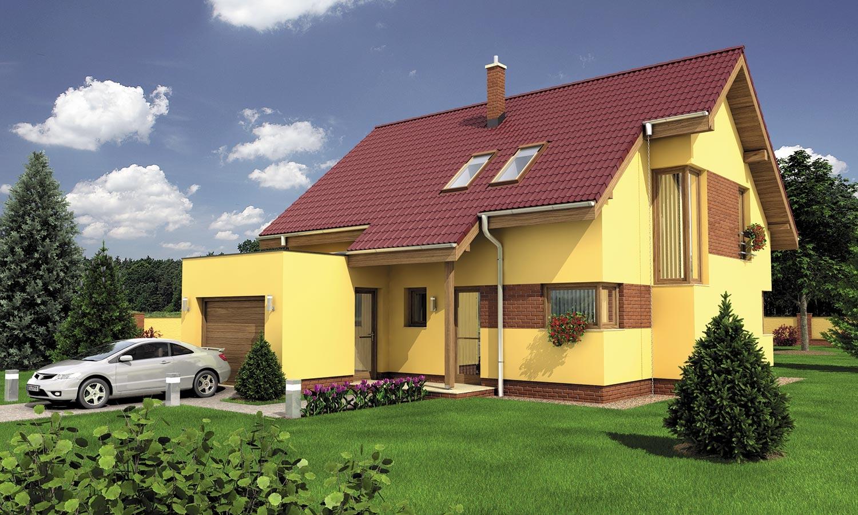 projekt domu PREMIER 198