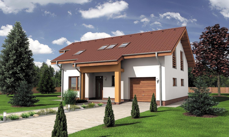 projekt domu PREMIER 200