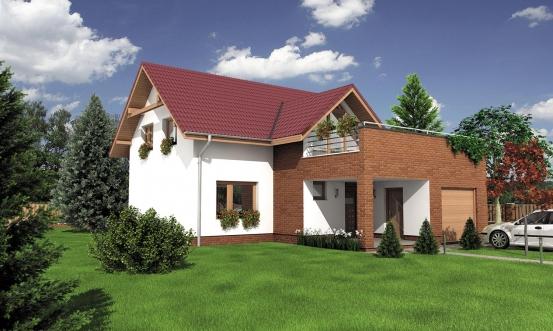 projekt domu PREMIER 201