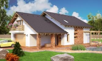 Rodinný dom s dvojgarážou
