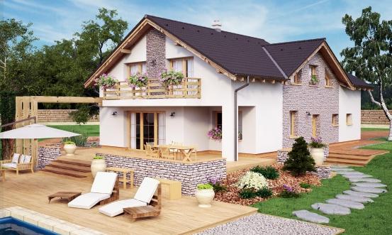 projekt domu PREMIER 202
