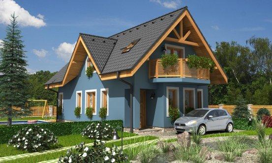 projekt domu PREMIER 56