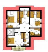 Pôdorys poschodia - PREMIER 58