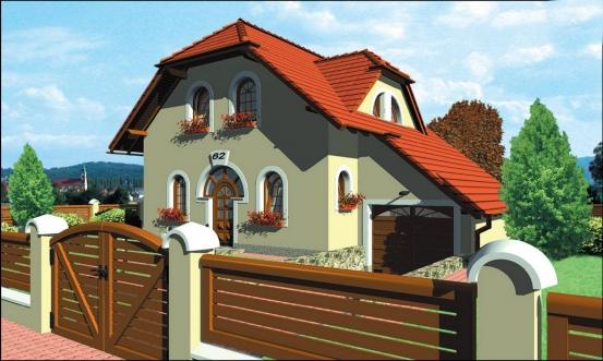 projekt domu PREMIER 62