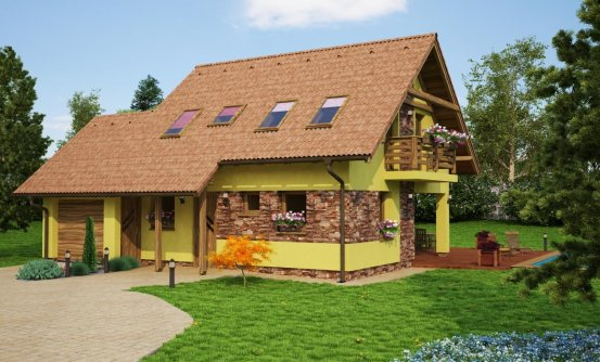 projekt domu PREMIER 63