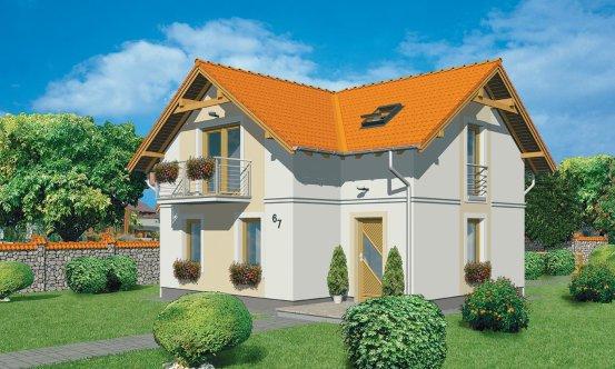 projekt domu PREMIER 67