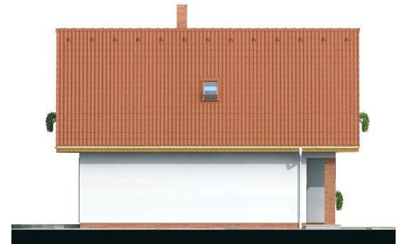Pohľad 2. - Malý dom vhodný aj ako záhradná chata.