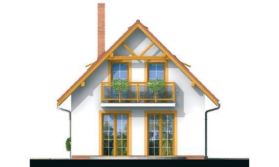 Pohľad 3. - Malý dom vhodný aj ako záhradná chata.
