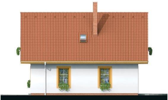 Pohľad 4. - Malý dom vhodný aj ako záhradná chata.