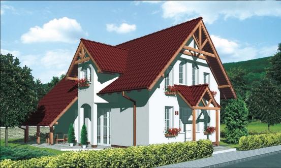 projekt domu PREMIER 88