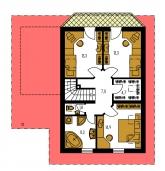 Pôdorys poschodia - PREMIER 92