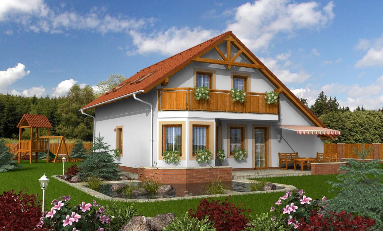 projekt domu PREMIER 92