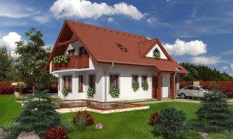projekt domu PREMIER 93